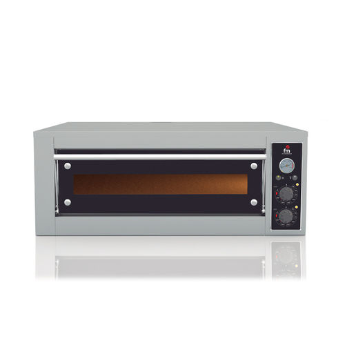 HORNO ELECTRICO PARA PIZZA CAPACIDAD 4 PIZZAS DE 330 mm.